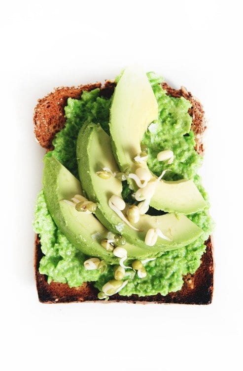 vegan avocado toast snack idea vegan snack