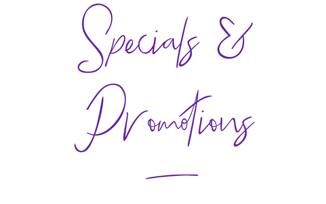 Special Promotions