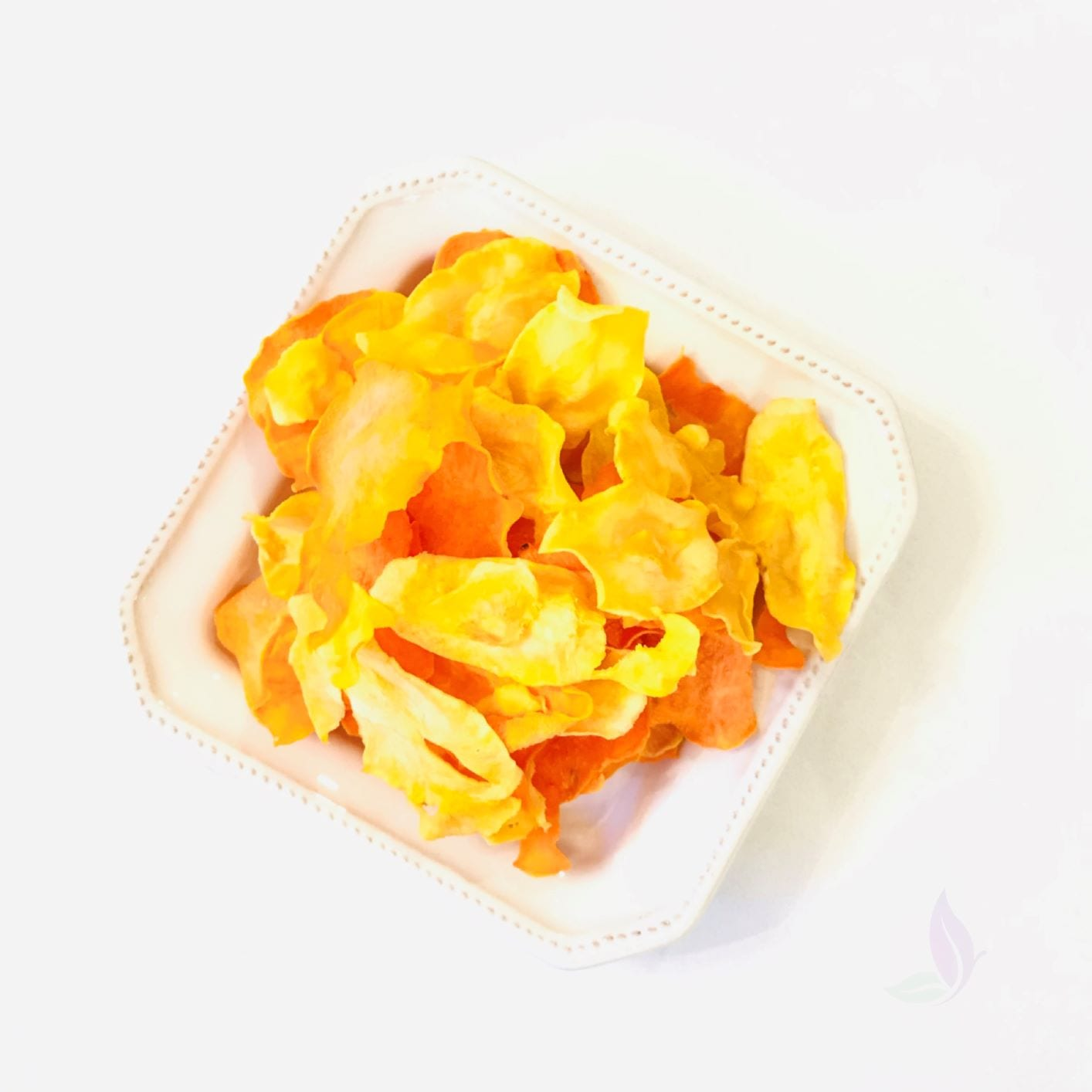 raw sweet potato parsnip chips, raw chip recipe, healthy chips