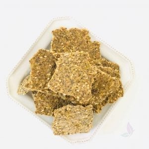 Balance Hormones with these Raw Crackers
