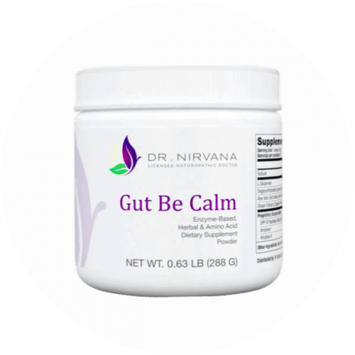 Supplement for constipation, gas, bloating, heartburn to heal the gut